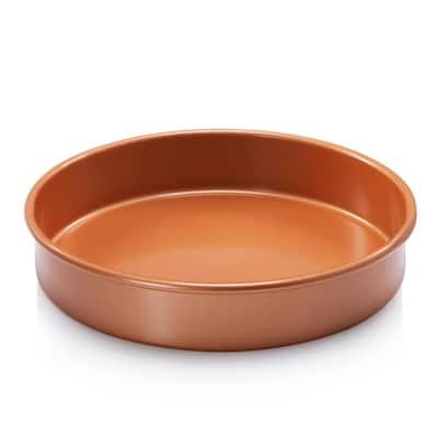 9.5 in. Ti-Ceramic Non-Stick Round Cake Pan