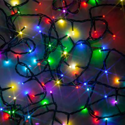100-Light 3mm Micro Multicolor LED String Light Set