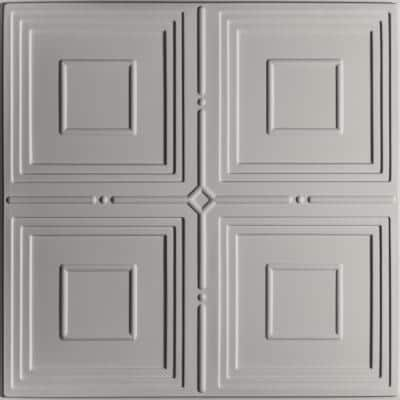 Jackson Stone 2 ft. x 2 ft. Lay-in or Glue-up Ceiling Panel (Case of 6)