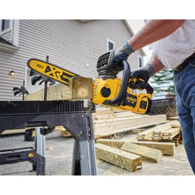 12 in. 20V MAX Lithium-Ion Cordless Brushless Chainsaw with (1) 5.0Ah Battery and Charger Included