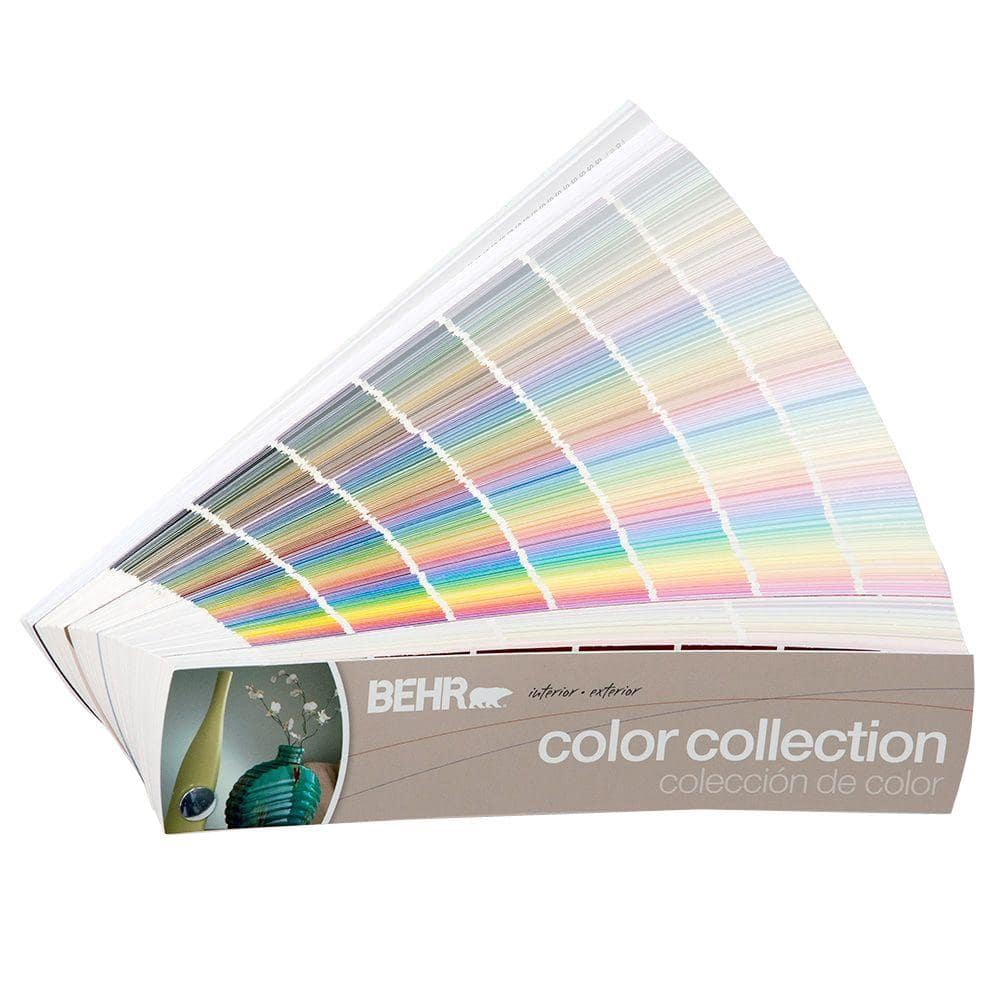 BEHR 20 in. x 20 in. 20 Color Fan Deck 20   The Home Depot