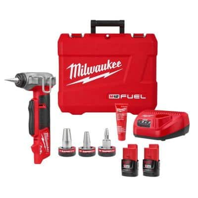 M12 FUEL ProPEX Expander Tool Kit with 1/2 in. - 1 in. RAPID SEAL ProPEX Expander Heads
