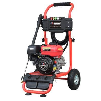 3200 PSI 2.6 GPM Cold Water Gas Pressure Washer