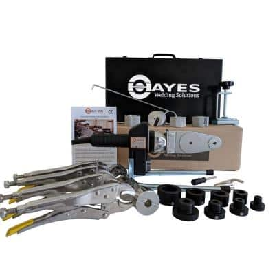 Hayes Digital Socket Fusion Pipe Welder Tool Complete Kit (up to 1 in.)