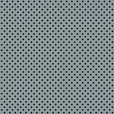 Blue 2 ft. x 2 ft. Perforated Metal Ceiling Tiles (Case of 10)