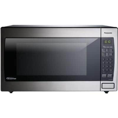 2.2 cu. ft. Countertop Microwave Oven in Stainless Steel Built-In Capable with Sensor Cooking Technology