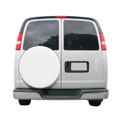 OverDrive 27.25 in. Dia x 9.5 in. W Custom Fit Spare Tire Cover