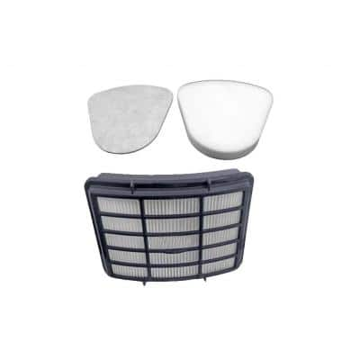 24 in. 4 HEPA 4 Foam and Felt Filters Kits Compatible with Shark Navigator Lift-Away Vac, 5-Pack