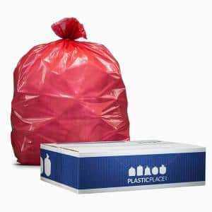 32-33 Gal. Red Trash Bags (Case of 100)