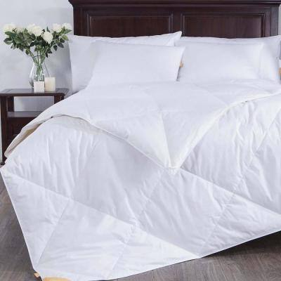 Light Warmth White King Down Comforter