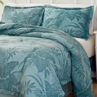 Blue Abalone Cotton Comforter Set