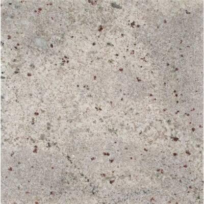 3 in. x 3 in. Granite Countertop Sample in Bianco Romano