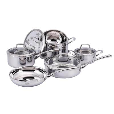 Culinary Professional 10-Piece Stainless Steel Cookware Set