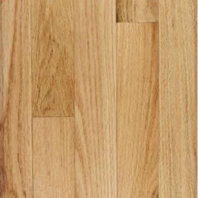 Red Oak Natural Solid Hardwood Flooring - 5 in. x 7 in. Take Home Sample