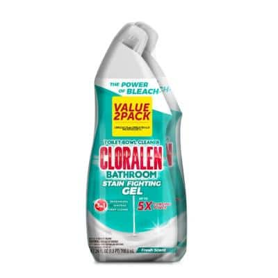 24 fl. oz. Triple Action Fresh Scent Toilet Cleaning Gel (2-Pack)