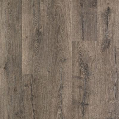 Outlast+ 7.48 in. W Vintage Pewter Oak Waterproof Laminate Wood Flooring (19.63 sq. ft./case)