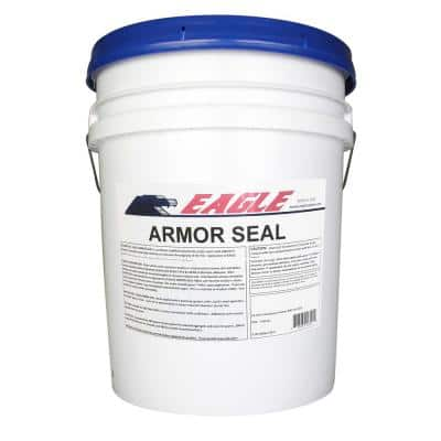 5 Gal. Armor Seal Urethane Modified Acrylic Glossy Durable Water-Based Clear Concrete Sealer