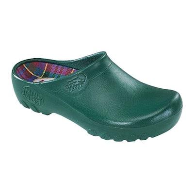 Women's Hunter Green Garden Clogs - Size 10