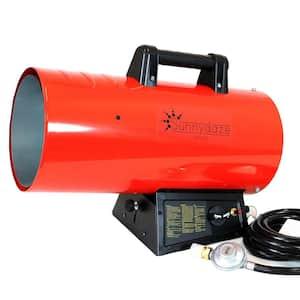 85,000 BTU Forced Air Propane Space Heater with Overheat Auto-Shutoff