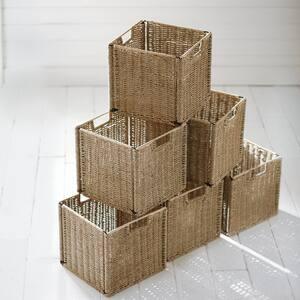 6-Pk Home Decorators Collection 11 in. x 10.5 in. Bin Basket Deals