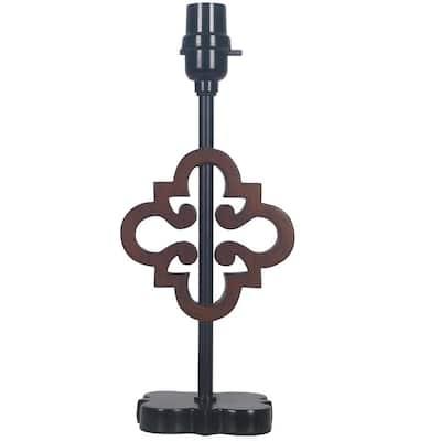 Mix & Match Bronze Lace Design Accent Lamp