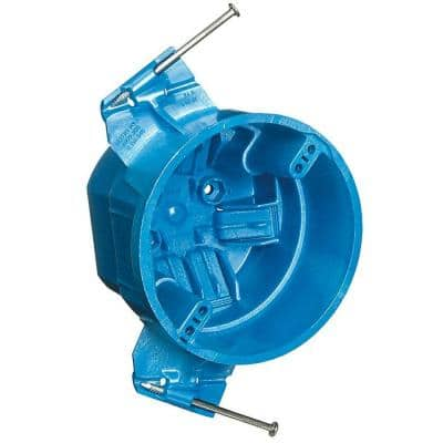 25 cu. in. New Work Round Hard-Shell Ceiling Electrical Box