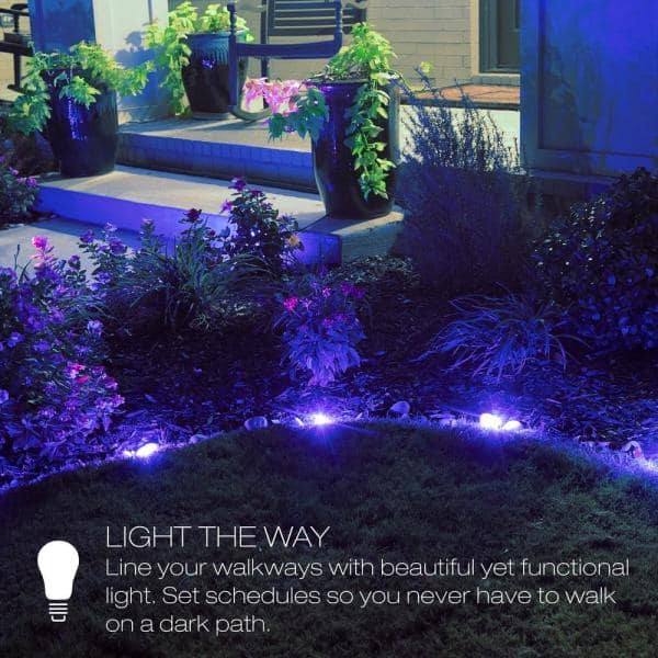 Sylvania Smart Zigbee Outdoor Clear, Outdoor Path Lights