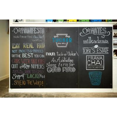 2 ft. x 4 ft. Laminate Sheet in RE-COVER Chalkboard with Matte Finish