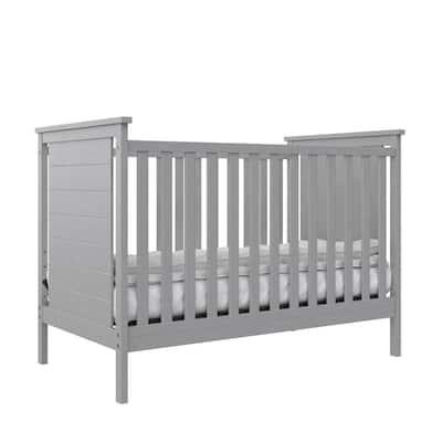 Eloise 3-in-1 Gray Convertible Crib