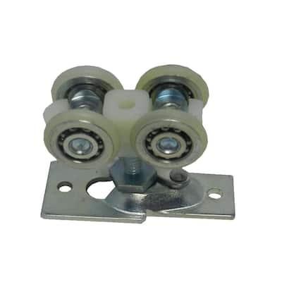 13/16 in. Bi-Fold Pocket Door Top Roller Assembly