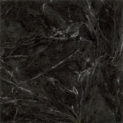Black Marble 12 in. x 12 in. Peel and Stick Vinyl Tile (30 sq. ft. / case)