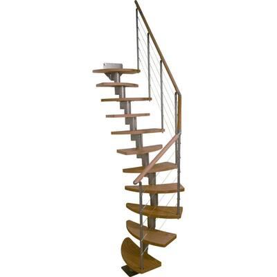 Rome 25 in. Modular 12-Tread Stair Kit