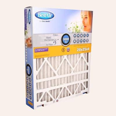 20 x 25 x 4 AprilAire/SpaceGard FPR 10 Air Cleaner Filter