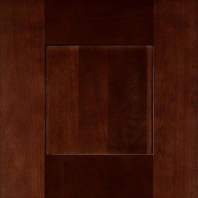 Franklin 12 3/4 x 0 3/4 in. Cabinet Door Sample in Manganite Glaze