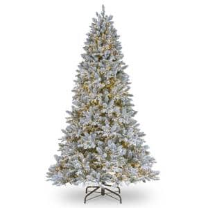 6-1/2 ft. Feel Real Iceland Fir Hinged Tree with 650 Clear Lights