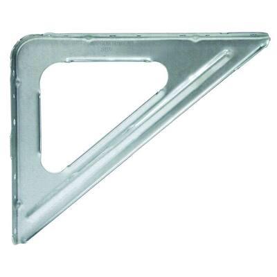 SBV 9 in. X 11 in. 16-Gauge Galvanized Shelf Bracket