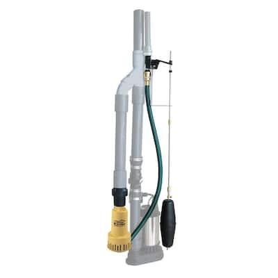 573 GPH Water Powered Backup Sump Pump
