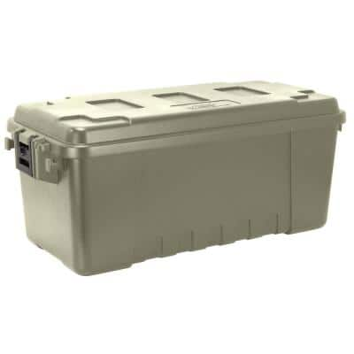 68 qt. Sportsman Trunk Olive Green