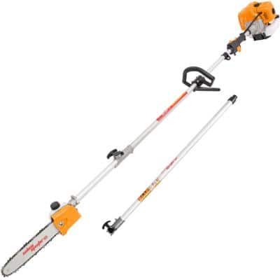 11 ft. 42.7 cc 2-Cycle Cutting Machine Gasoline Powered Gas Pole Saw Tree Trimmer with Carry Bag