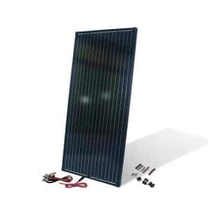 200-Watt 12-Volt Monocrystalline Solar Panel for Camper, RV and Other Off-Grid Applications