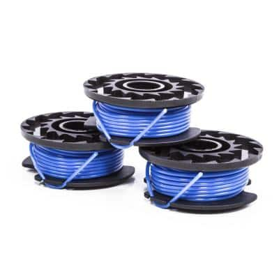 0.065 in. Replacement Spool (3-Pack) for 40-Volt String Trimmer