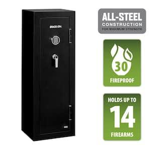 14-Gun Safe Electronic Lock in Matte Black