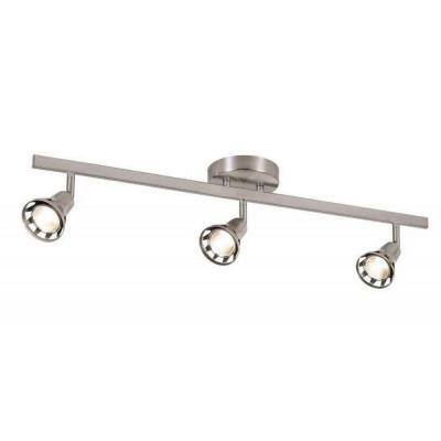 Renew 2.3 ft. 3-Light Brushed Nickel Track Lighting Kit