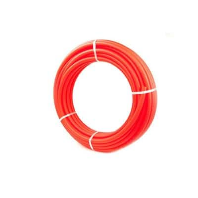 3/4 in. x 100 ft. Polyethylene PEX Tubing Non-Barrier Potable Water Pipe Combo - Red and Blue