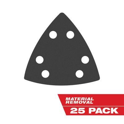 3-1/2 in. Sandpaper Oscillating Sanding Accessories Kit (25-Piece)