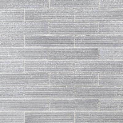 Weston Ridge White 2 in. x 9 in. 11mm Polished Clay Subway Wall Tile (33-piece 5.64 sq. ft. / box)