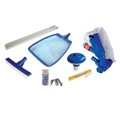 Splasher Swimming Pool Starter Maintenance Kit (7-Piece)