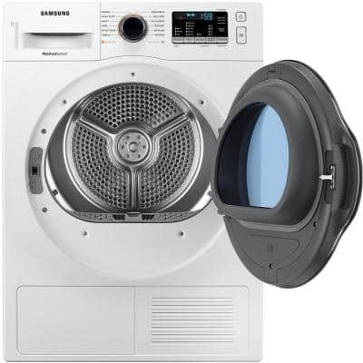 4.0 cu. ft. Capacity White 24 Stackable Electric Ventless Heat Pump Dryer ENERGY STAR Certified