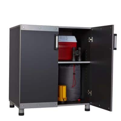 FastTrack Garage Laminate Cabinet Set with Wall Panel (5-Piece)