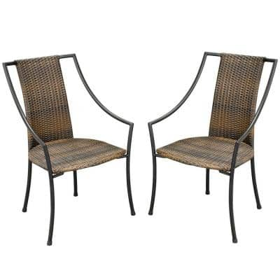 Laguna Synthetic-Weave Patio Armchair (2-Pack)